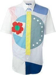лоскутная рубашка  Junya Watanabe Comme Des Garçons Man