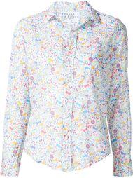 рубашка с цветочным принтом   Frank & Eileen