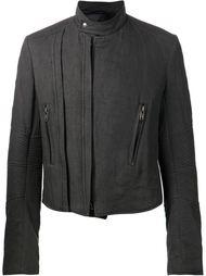 байкерская куртка с панелями в рубчик Haider Ackermann