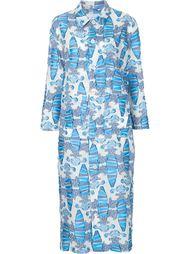 фактурное платье-рубашка Julien David