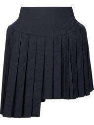 плиссированная юбка асимметричного кроя Julien David