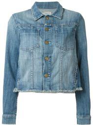джинсовая куртка с необработанными краями   Current/Elliott