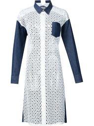 платье-рубашка  Junya Watanabe Comme Des Garçons