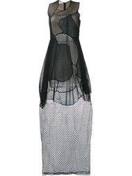платье 'Reynold' в сетку без рукавов Stella McCartney