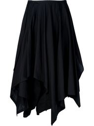 многослойная юбка асимметричного кроя Yohji Yamamoto