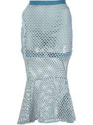 расклешенная сетчатая юбка Musée