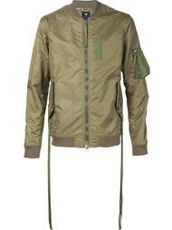 куртка-бомбер с карманом на рукаве Maharishi