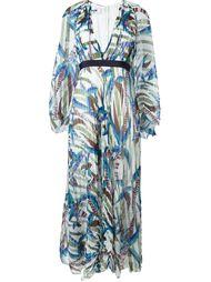 расклешенное платье  MSGM