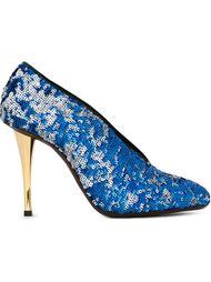 туфли на шпильках декорированные пайетками Lanvin