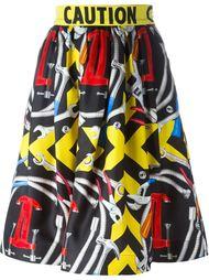 юбка с принтом инструментов Moschino