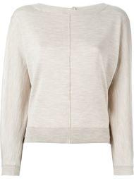 свитер с видным швом  Eleventy