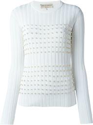 декорированный свитер  Emilio Pucci