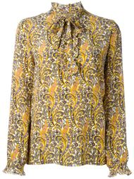 блузка  с принтом пейсли   Fay