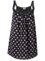 платье с узором из крестов Au Jour Le Jour