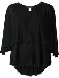 блузка c V-образным вырезом   Capucci