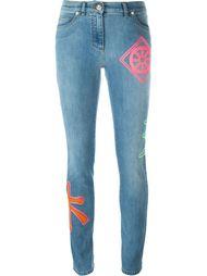 джинсы кроя скинни  Versace