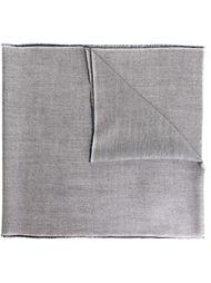 шарф с необработанными краями   Burberry