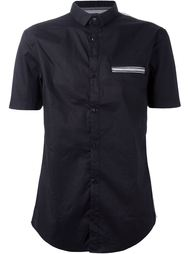 рубашка с нагрудным карманом  Armani Jeans