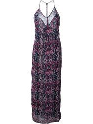 платье с абстрактным принтом  Iro