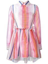 платье на пуговицах в полоску  Daizy Shely
