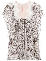 блузка с принтом Chloé