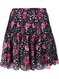 юбка с принтом звезд и цветов Giamba