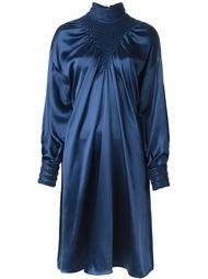 платье с присборенными рукавами Fendi