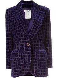 бархатный пиджак Christian Dior Vintage