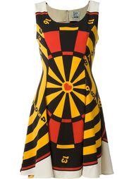 платье с принтом  доски для дартс Moschino Vintage