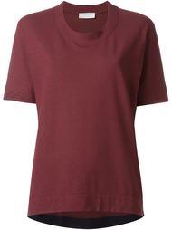 футболка с широким воротником  Zanone