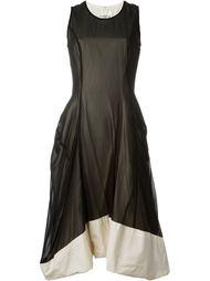 многослойное шифоновое платье Comme Des Garçons Vintage