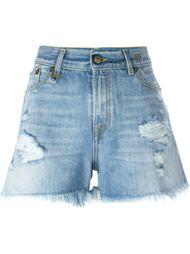 джинсовые шорты R13
