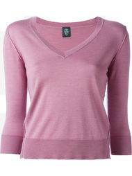 свитер с V-образным вырезом Eleventy