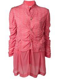куртка с присборенной отделкой Comme Des Garçons Vintage