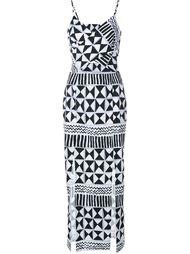 платье 'Rebecca' с вырезными деталями Tata Naka