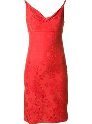 приталенное жаккардовое платье Versace Vintage