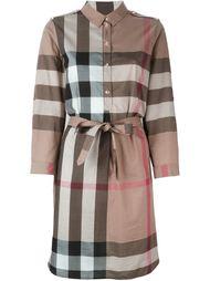 платье-рубашка 'House Check' Burberry