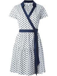 платье с запахом и принтом 'Peace Palm' Diane Von Furstenberg