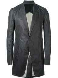 пиджак с вощеным покрытием Rick Owens