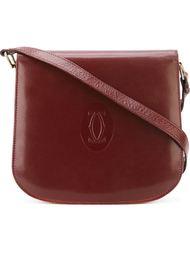 сумка на плечо с тиснением логотипа Cartier Vintage