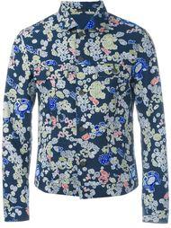 джинсовая куртка с абстрактным принтом Jil Sander