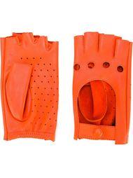 перфорированные перчатки без пальцев Zanellato