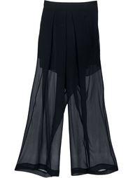 укороченные прозрачные брюки Isabel Benenato