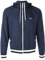куртка с капюшоном с вышитым логотипом Maison Kitsuné