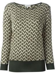 свитер с узором  Etro