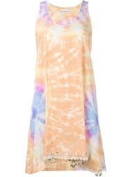 платье с узором тай-дай Paco Rabanne