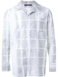 пижамная рубашка в клетку Dressedundressed