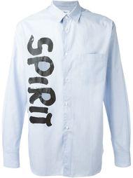 рубашка в полоску 'Spirit'  Comme Des Garçons Shirt