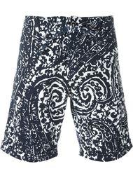 шорты с принтом пейсли  Lardini