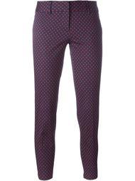 брюки с цветочным принтом  Alberto Biani